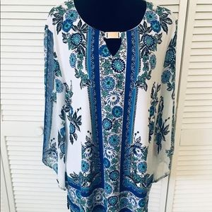 JM long sleeve top with metal detail size XL